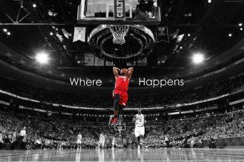 basketball wallpaper, NBA, 4K, LeBron James, Miami Heat