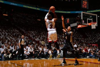 NBA wallpaper, Miami Heat, San Antonio Spurs, basketball, Dwyane Wade