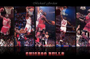 Chicago Bulls Michael Jordan wallpaper, basketball, Chciago Bulls, NBA