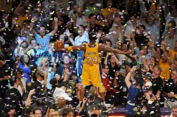 Los Angeles Lakers Kobe Bryant Wallpaper, NBA, basketball, crowd, large group of people