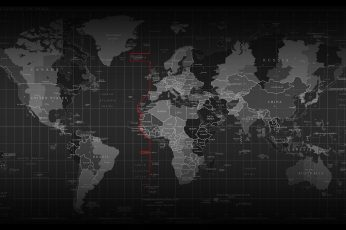 Wallpaper map, wold map, technology, world, scaner, digital, time zone