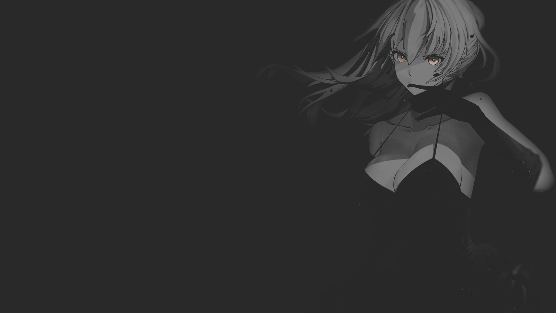 Dark Wallpaper Wallpaper Fate Stay Night Anime Illustration Minimalism Texture Black Background Wallpaper For You The Best Wallpaper For Desktop Mobile