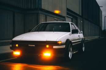 Toyota Sprinter Trueno AE86 GT-Apex, JDM, Japanese cars, sports car wallpaper