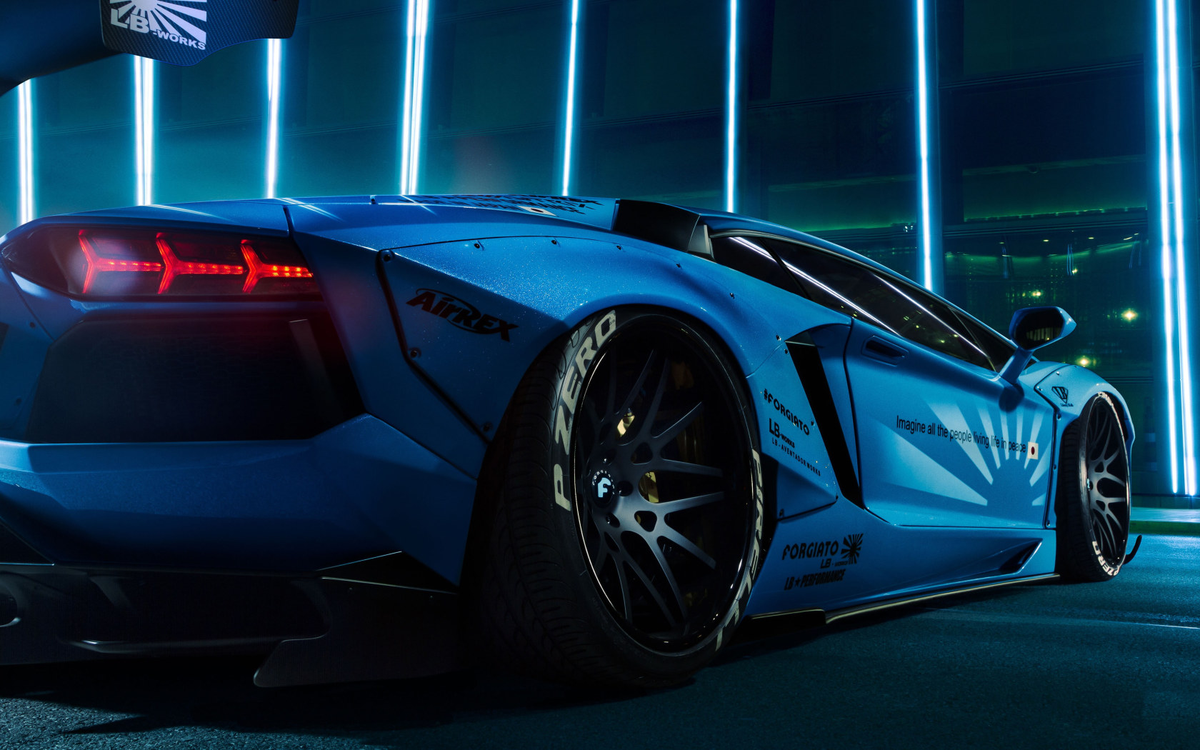 Car Wallpaper Sports Car Supercar Lamborghini Aventador Blue Car Wallpaper For You Hd Wallpaper For Desktop Mobile
