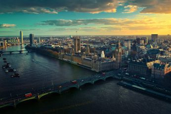 London bridge, assorted building lot, cityscape, Big Ben, England wallpaper