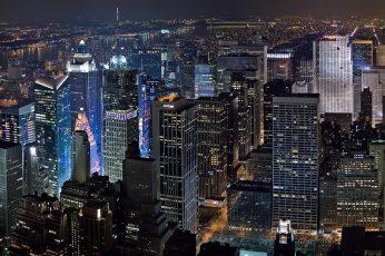 New york wallpaper, city, night, 1920×1080, 4k pics, ultra pics