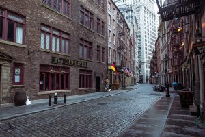Brown concrete building, street, Ireland, city, cityscape, New York City wallpaper