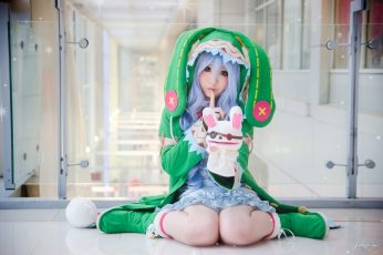 Kawaii wallpaper, girl, game, anime, beautiful, pretty, cosplay, asian