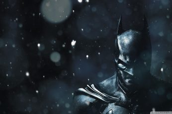 Batman Arkham Knight wallpaper, DC Comics, video games, The Dark Knight
