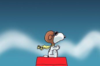 Wallpaper Snoopy Dog Peanuts HD, cartoon/comic