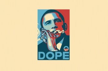 Wallpaper Barack Obama vector art, dope, USA, poster, cannabis, Hope posters