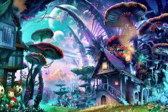 Fantasy wallpaper free