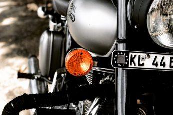 Wallpaper bike, bullet, motorcycle, enfield, motorbike, royal, ride, travel