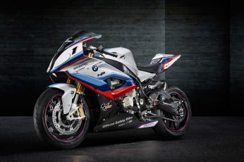 Wallpaper gray and blue sports bike, motorcycle, BMW S1000RR, Moto GP, superbike