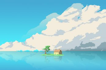Pixel art background free
