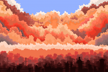 Pixel art live wallpaper pc
