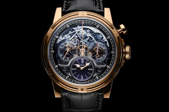 Wallpaper gold, louis, moinet, rose, watch, time, clock, metal, luxury