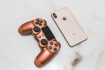 Wallpaper iphone, sony, ps4, product, rose gold, wallpaper, photography