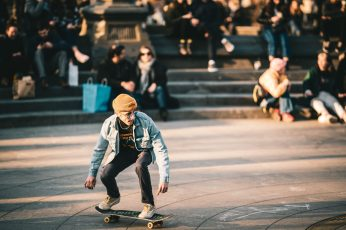 Wallpaper man riding on the skateboard photography, person, human, sport