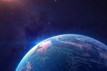 Wallpaper planet earth wallpaper, earth painting, space, digital art, space art
