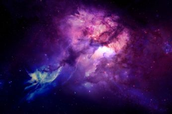 Wallpaper milky way digital wallpaper, space, galaxy, universe, space art