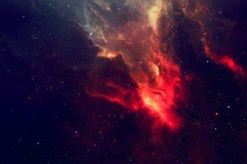 Wallpaper nebula wallpaper, milky way digital wallpaper, space, stars, TylerCreatesWorlds