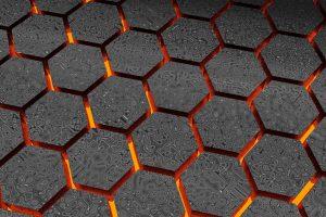 Pattern wallpaper, material, line, texture, symmetry, hexagon, net, mesh