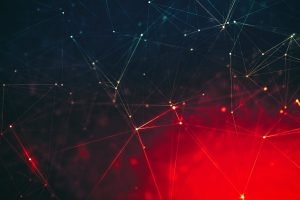 Red and blue digital wallpaper, abstract, digital art, minimalism