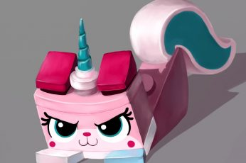 Lego, The Lego Movie, Cat, Unicorn wallpaper, Unikitty (Lego Movie), pink color