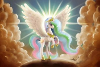 Unicorn wallpaper, TV Show, My Little Pony: Friendship is Magic