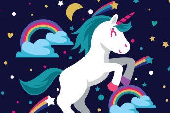 Unicorn wallpaper, HD wallpaper