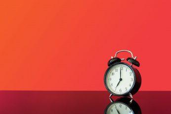 Vintage Alarm Clock, bed time, deadline, deprivation, get up wallpaper