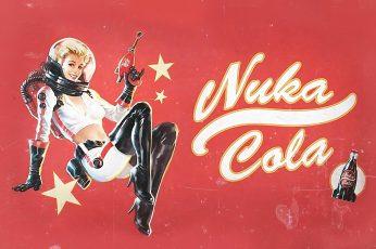Nuka Cola, pinup models, vintage, Fallout, Fallout 4, video games wallpaper