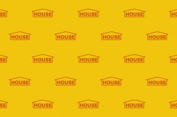 Yellow Aesthetic House wallpaper