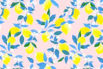 Aesthetic lemon wallpaper