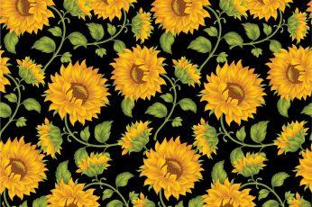 Aesthetic flower wallpaper laptop