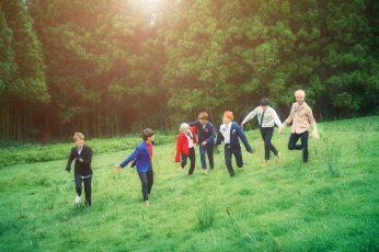 Music wallpaper, BTS, Boy, K-Pop, Korean