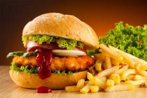 Chicken burger, Wall, Food, hamburger, lettuce, beef, meat, tomato wallpaper