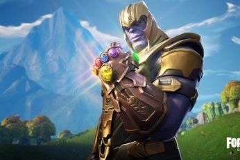 Thanos In Fortnite Battle Royale wallpaper