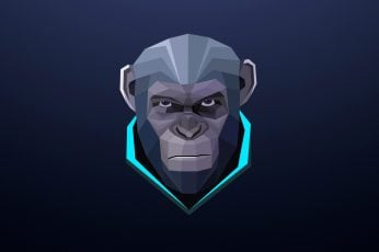 Fortnite game wallpaper, Dawn of the Planet of the Apes, abstract