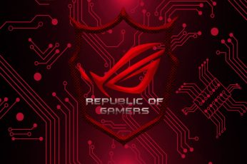 Republic of Gamers wallpaper, Technology, Asus ROG