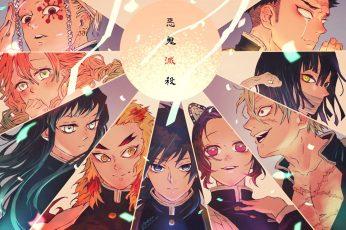 Kimetsu no Yaiba wallpaper, anime, Tanjiro Kamado, Kamado Tanjirō