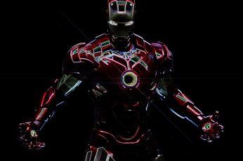 Iron Man digital wallpaper, Marvel Comics, superhero, Tony Stark
