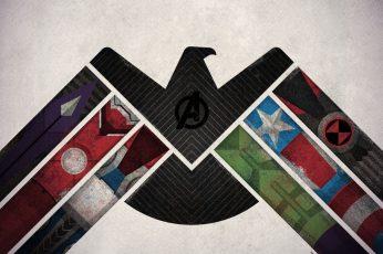 Marvel Avengers digital wallpaper, Iron Man, Thor, Captain America