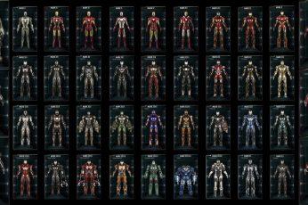 Iron Man armor illustration wallpaper, movies, Marvel Comics, no people