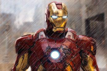 Iron-Man digital wallpaper, Iron Man, Marvel Comics, superhero