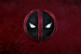 Deadpool logo wallpaper, Marvel Deadpool logo, Marvel Comics, comic books
