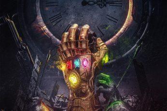 Infinity Stones wallpaper, Infinity Gauntlet, Thanos, Avengers: Infinity War