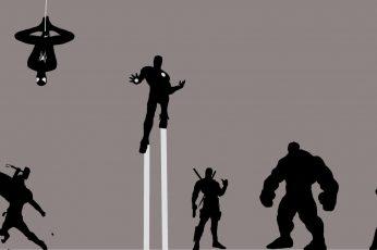 Marvel Avengers digital wallpaper, Thor 2: The Dark World, Avengers: Age of Ultron