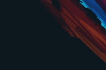 Stroke wallpaper, artwork, abstract, colored lines, minimalist, minimalism